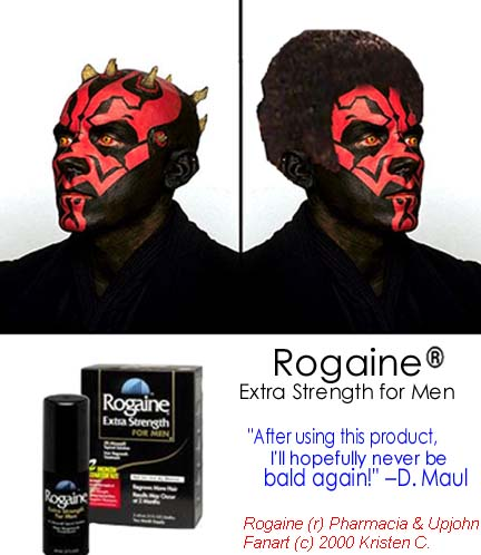 There s also the option for rogaine for those who can t afford hair